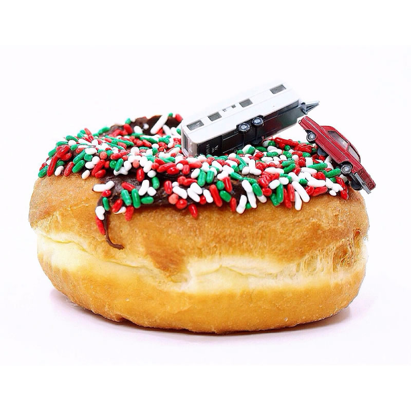 Christmas Vacation Donut Tribute
