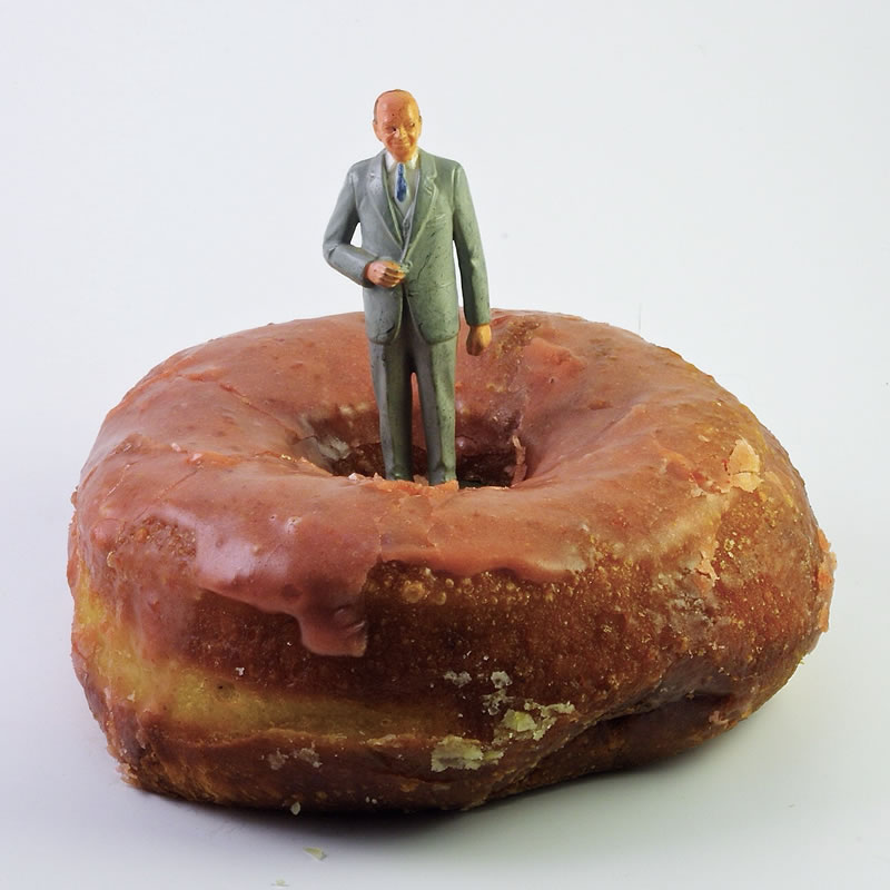 Dwight D(onut) Eisenhower