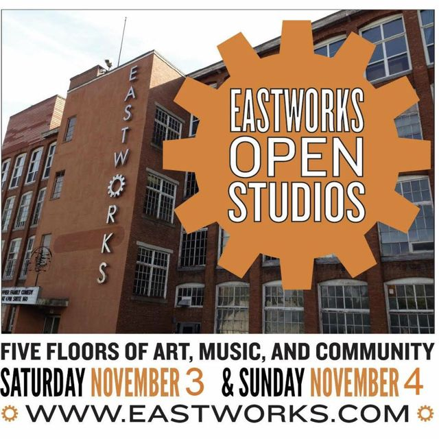 Pumpkin Carving: Open Studios At Eastworks/Crooked Stick Pops
