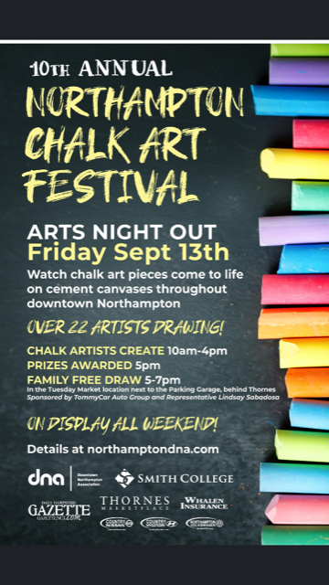 10th Annual Northampton Chalk Art Festival