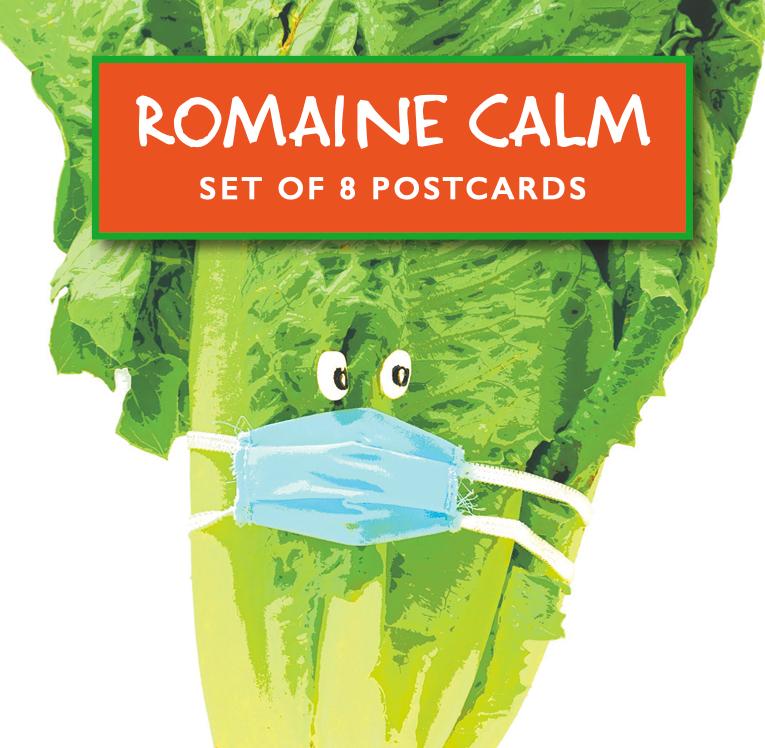 Romaine Calm Postcard Set Of 8
