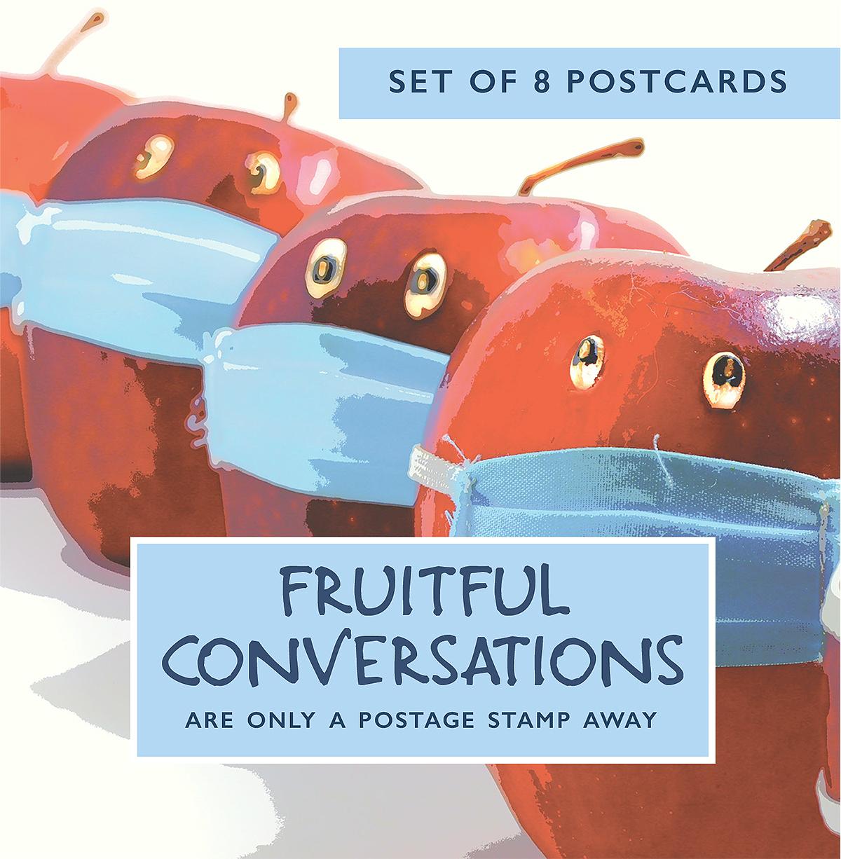 Fruitful Conversations Postcard Set Of 8
