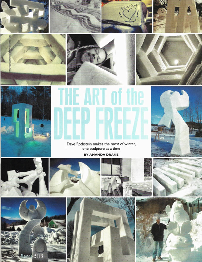 Preview Magazine – The Art Of The Deep Freeze