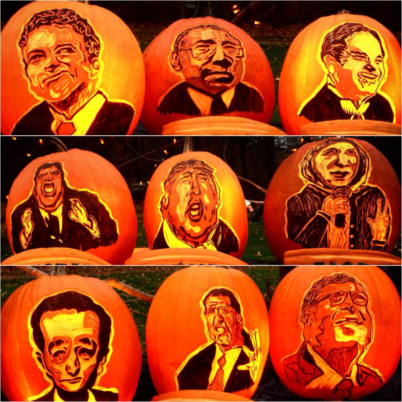 New England Regional Pumpkin Carving Competition -People's Choice 2016