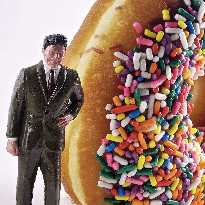 Ronald Reagan with Sprinkles