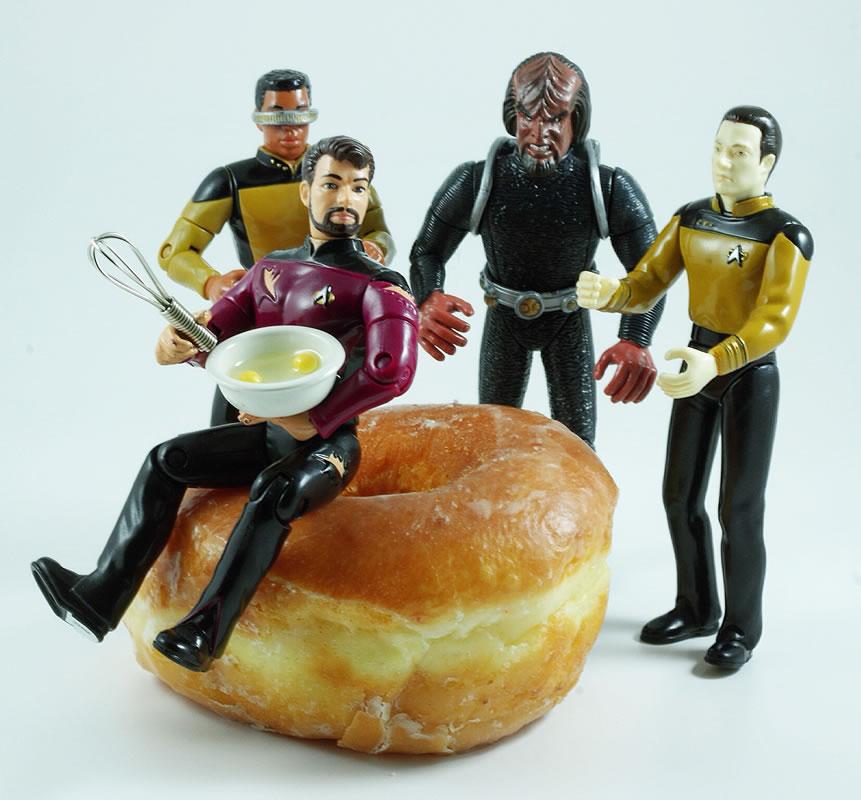 Riker Makes Breakfast