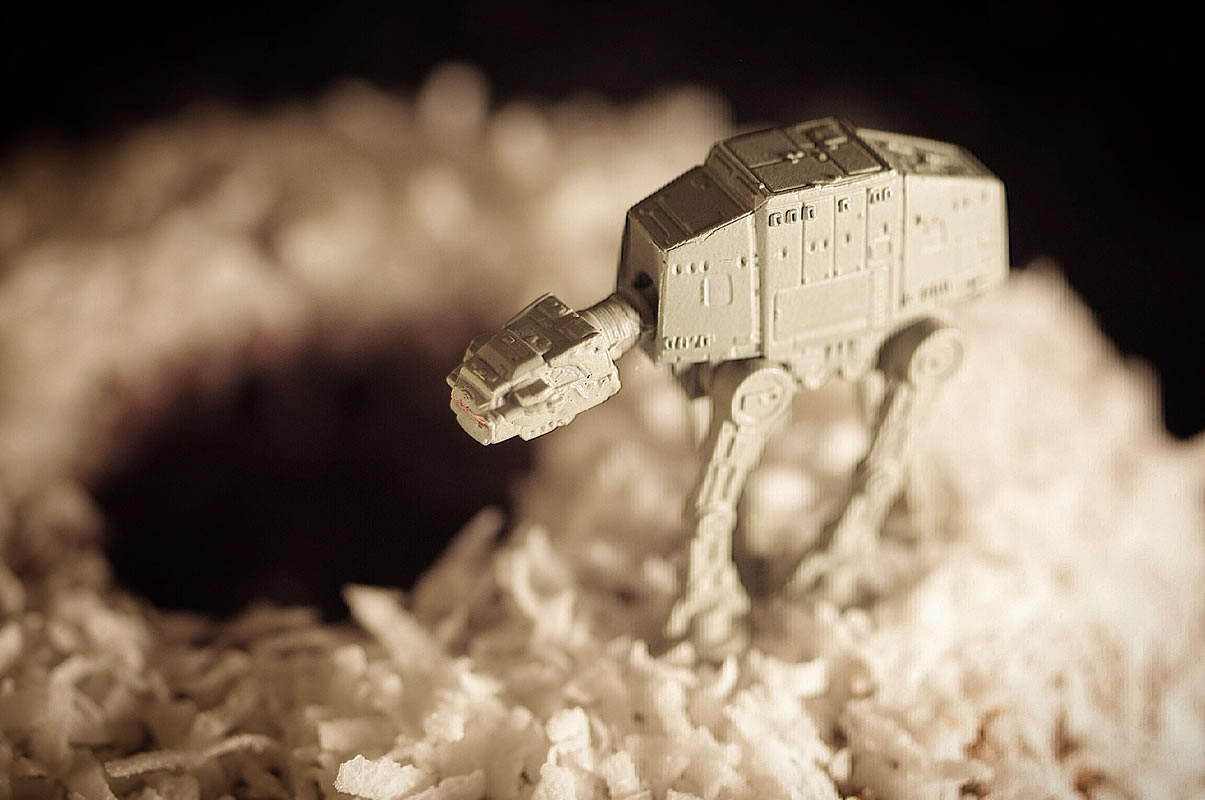 AT-AT on Coconut Donut Hoth