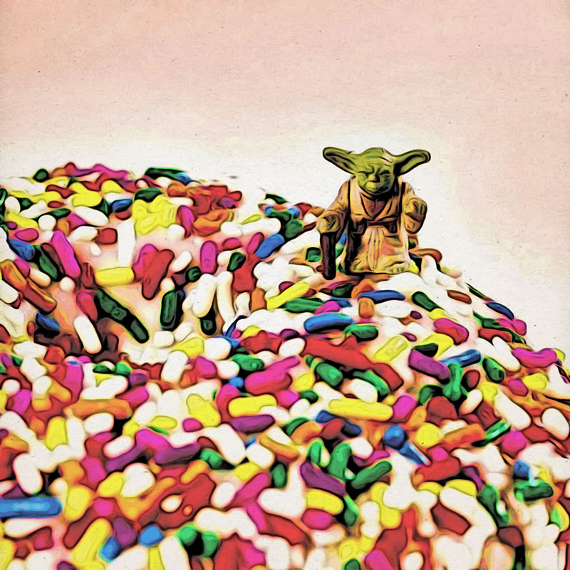 Do. Donut. There is not Try.